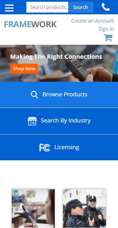 RFDI2Way Mobile Site