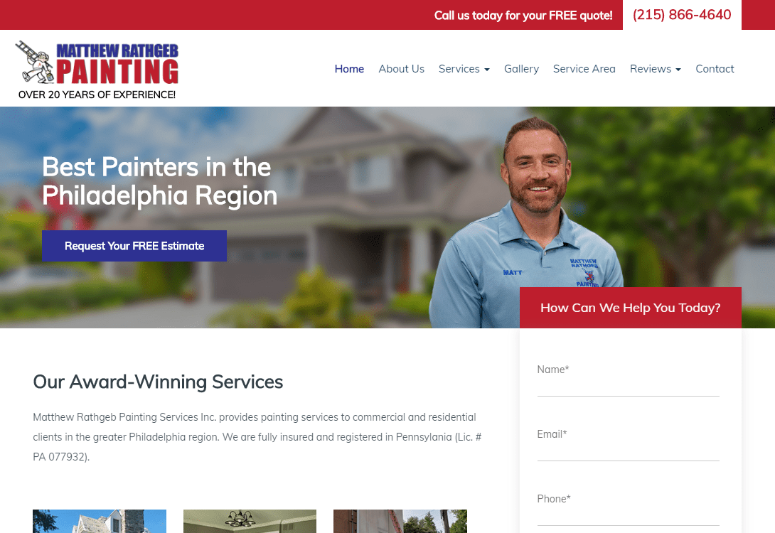 website-design-home-services-painting